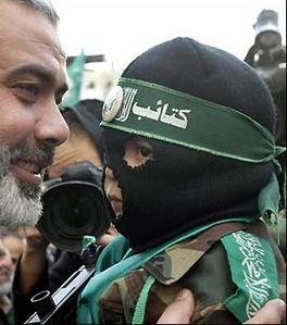 Ismael Haniyeh (إسماعيل هنية) sourire aux lèvres.