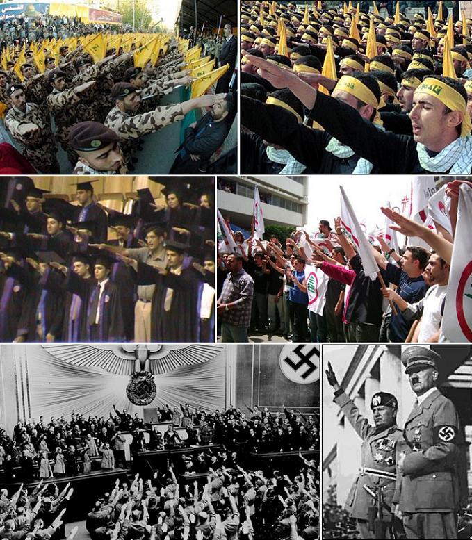 Alors, qui sont les nazi dans cette région ? Israël, ou le Fatah, le Hamas et le Hezbollah ?