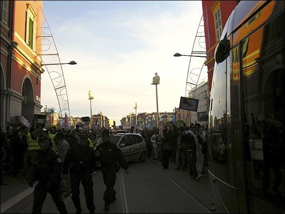 Manifestation anti-israélienne à Nice