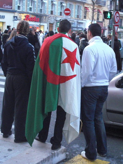 Pro-palestiniens ou pro-algériens ?