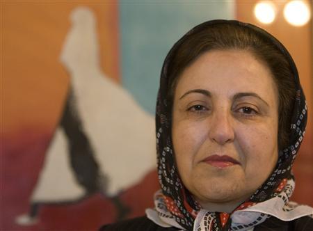"""L'Union européenne a fait part aux autorités iraniennes de ses """"craintes réelles"""" sur la sécurité de Shirin Ebadi, prix Nobel de la paix. L'association de défense des droits de l'homme dirigée par l'avocate iranienne a été fermée le 21 décembre. (Reuters/Steve Crisp)"""