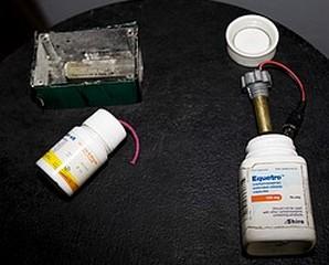"""Le Hamas a transformé des produits médicaux en grenades contre l'armée israélienne pendant l'opération """"Plomb durci""""."""